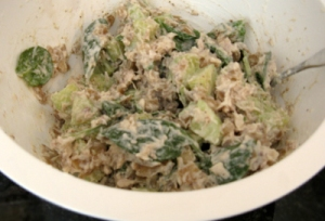 Tuna Salad with Horseradish