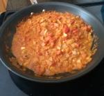 Simmering Tikka Masala Sauce