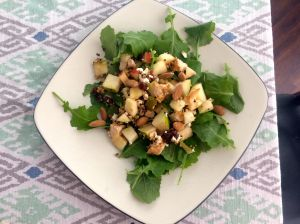 kale-goat-cheese-apple-pear-salad
