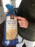 Quaker Rice Cake container